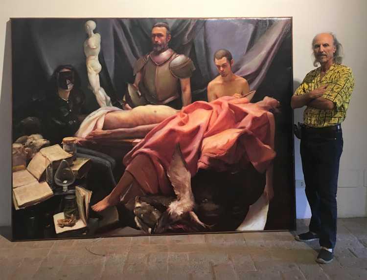 Luciano Regoli ad Ariccia, 10 luglio 2019 (1)