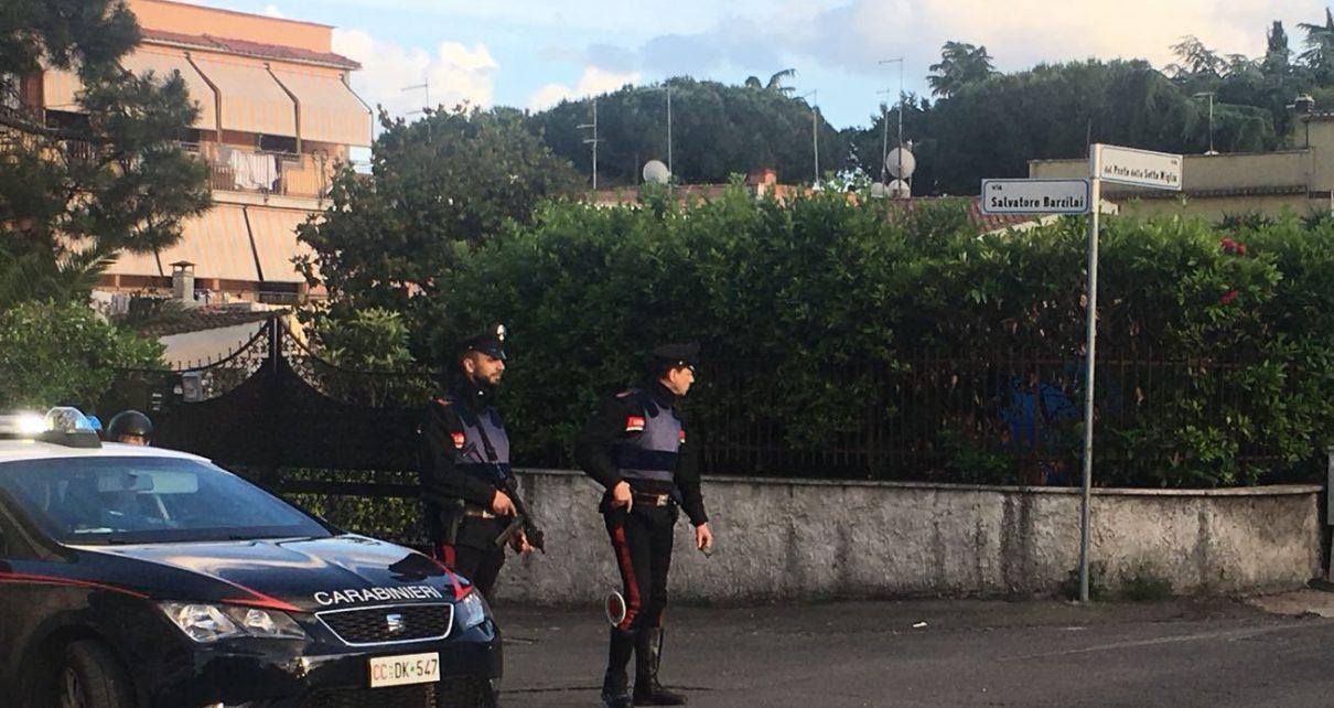 FRASCATI - Controlli dei Carabinieri zona Romanina (1)
