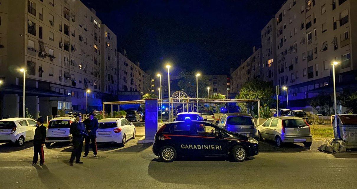 L'operazione dei Carabinieri di questa mattina al Ferro di Cavallo a Tor Bella Monaca (4)